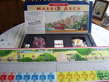 Marble Arch Game (By Parker) Rare
